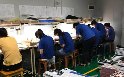 Vonira Factory Material QC Quality Checking Workshop